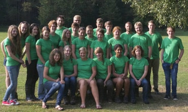 Das Team 2013 in Astert