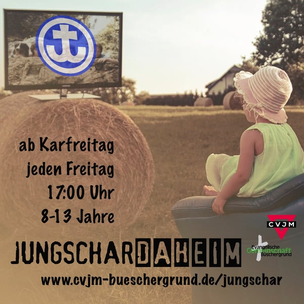 jungschardaheim flyer quadrat